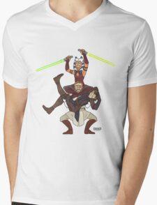 Obi Juan needs some ho Mens V-Neck T-Shirt