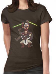 Obi Juan needs some ho Womens Fitted T-Shirt