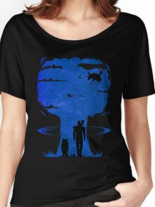 Atomic Warfare - Blue Women's Relaxed Fit T-Shirt