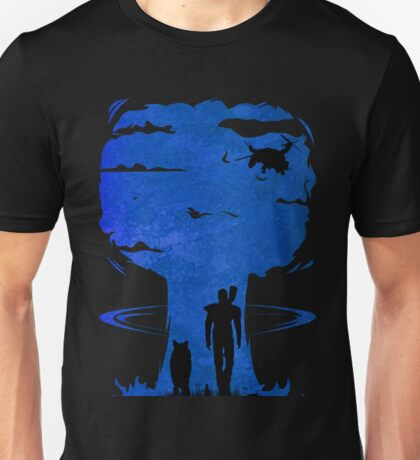 Atomic Warfare - Blue Unisex T-Shirt