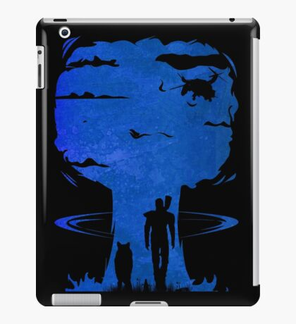 Atomic Warfare - Blue iPad Case/Skin