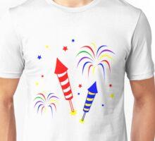 Holiday Fireworks Merchandise Unisex T-Shirt