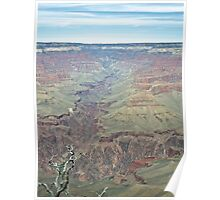 Colorado River Carving the Grand Canyon Poster