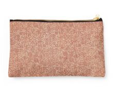 Antique Pattern in Red Studio Pouch