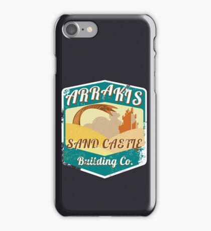 ARRAKIS SAND CASTLE BUILDING COMPANY  iPhone Case/Skin