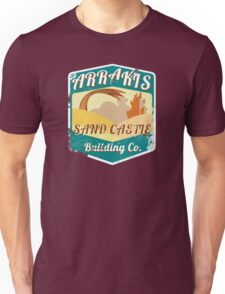 ARRAKIS SAND CASTLE BUILDING COMPANY  Unisex T-Shirt