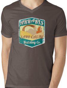 ARRAKIS SAND CASTLE BUILDING COMPANY  Mens V-Neck T-Shirt