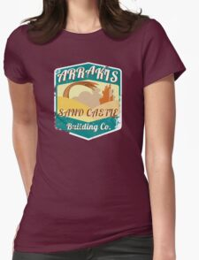 ARRAKIS SAND CASTLE BUILDING COMPANY  Womens Fitted T-Shirt