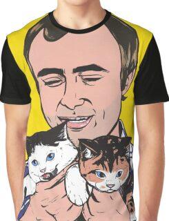 Phil Collins Kitties Graphic T-Shirt