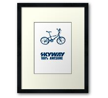 Old School BMX T-Shirts Framed Print