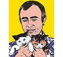 Phil Collins Kitties Photographic Print