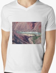 The Force of Water May Astound You Mens V-Neck T-Shirt