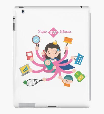 Super Mom, Super Woman iPad Case/Skin