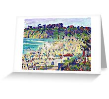 Del Mar Beach - San Diego California Picture Greeting Card