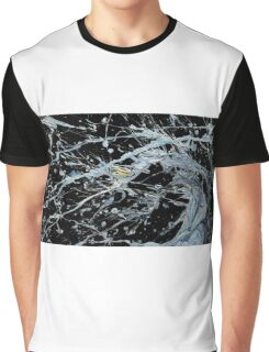 Cosmic Wave Graphic T-Shirt