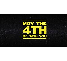May the 4th be with you Star Wars Photographic Print