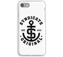 Syndicate Original Anchor Merch iPhone Case/Skin