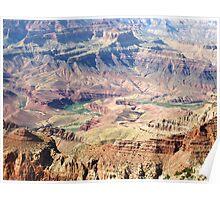 Colorado River Carving the Grand Canyon 02 Poster