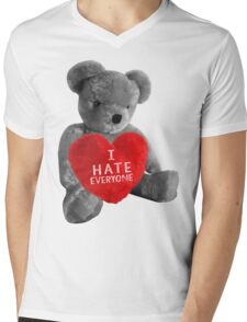I HATE EVERYONE Mens V-Neck T-Shirt