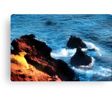 Sea Light Canvas Print