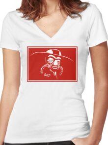 The Bounty Hunter Women's Fitted V-Neck T-Shirt