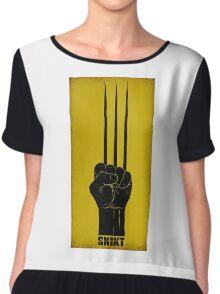 Wolverine Chiffon Top
