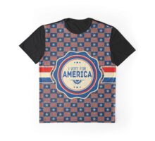 I vote for America! Graphic T-Shirt