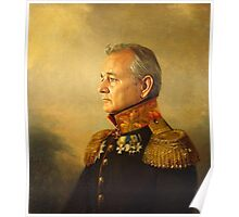bill murray - replace face Poster