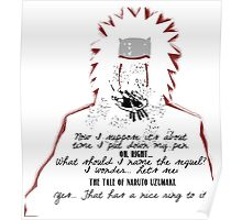 Jiraiya's Death Quote Poster