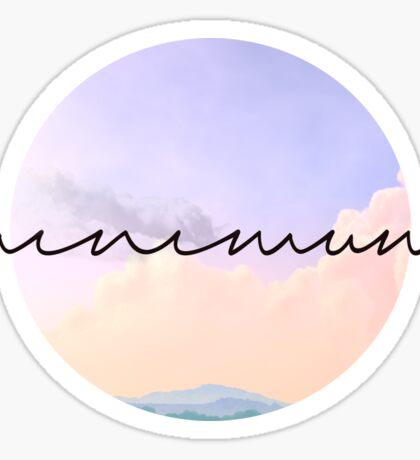 Minimum Sticker