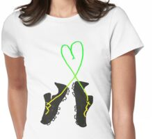 Cleats Womens Fitted T-Shirt