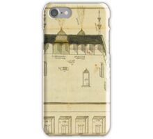 pilgrimage manuscript,Turkey, Ottoman, 18th century, and a scroll relating to Mecca & Medina iPhone Case/Skin
