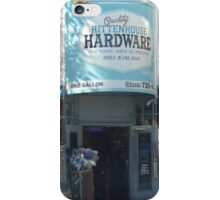 Hardware Shop in Philly iPhone Case/Skin