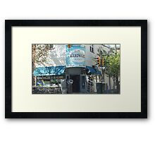 Hardware Shop in Philly Framed Print