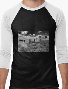 Carrickfergus Castle 1 Men's Baseball ¾ T-Shirt