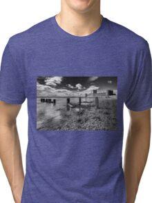 Carrickfergus Castle 1 Tri-blend T-Shirt