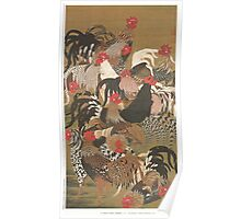 Jakuchu - Rooster Group Poster