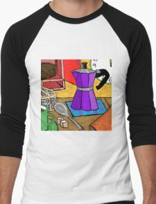 Moka Pot Joy Men's Baseball ¾ T-Shirt