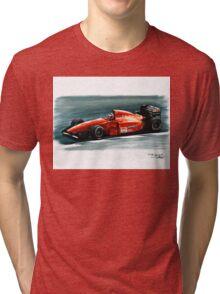 1994 Ferrari 412T1B Tri-blend T-Shirt