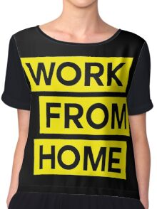 WORK FROM HOME Chiffon Top