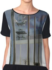 Invisible Industry Women's Chiffon Top