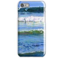 Surfing Picture San Diego California iPhone Case/Skin
