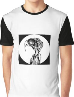 the muser black and white Graphic T-Shirt