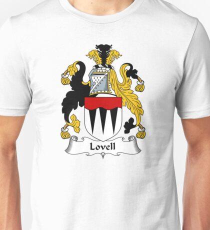 Lovell Coat of Arms / Lovell Family Crest Unisex T-Shirt