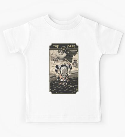 The Fool - Sinking Wasteland Tarot Kids Tee