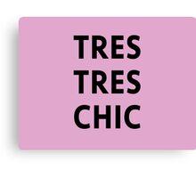 Tres Tres Chic - Aria, Pretty Little Liars Canvas Print