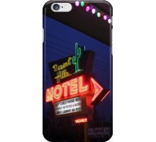 Desert Hills Motel Route 66  iPhone Case/Skin