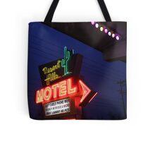 Desert Hills Motel Route 66  Tote Bag