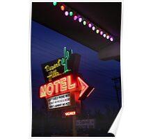 Desert Hills Motel Route 66  Poster