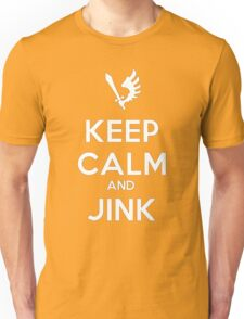 Keep Calm and Jink Unisex T-Shirt
